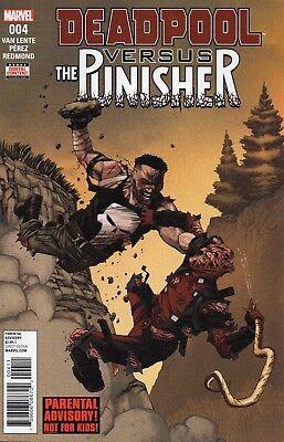 Deadpool Versus The Punisher #4 (NM)`17 Van Lente/ Perez