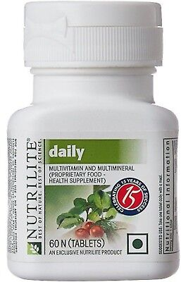 (Amway Nutrilite Daily Multivitamin Multi Mineral 60 / 120 Tablets Daily Diet )