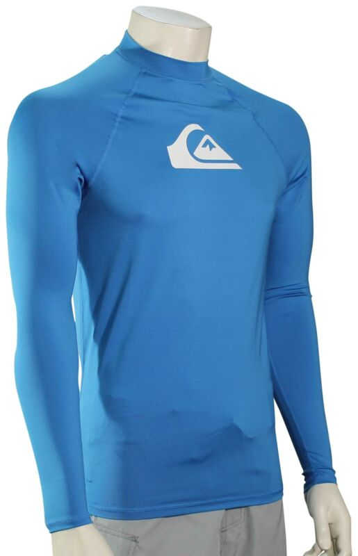 Quiksilver All Time LS Rash Guard - Blithe - New