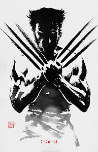 THE-WOLVERINE-Movie-POSTER-X-MEN-Marvel-Comics-Avengers-Dark-Knight