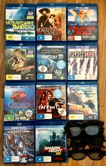3D Blu-Ray Bundle with Free Glasses