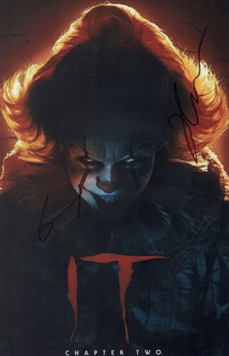 Jessica Chastain & Teach Grant IT CHAPTER TWO Cast X3 Signed 11x17 Photo