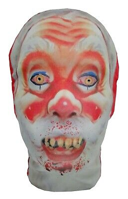 Evil Bad Santa Krampus, Full Head Mask - Father Christmas - Halloween - Bad Santa Kostüm