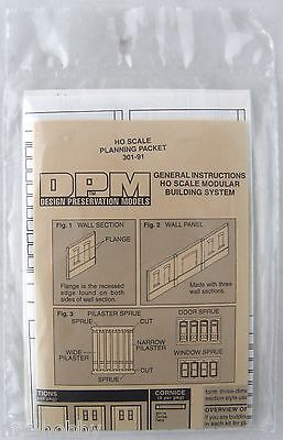 HO Scale Planning Packet for Modular Building System - DPM #301-91 ()