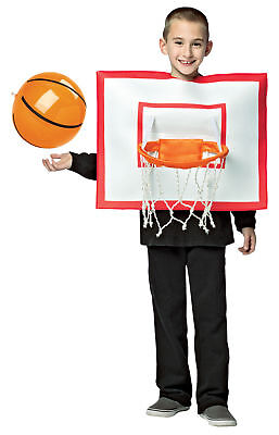 Basketball Hoop Ball Child Boys Sports Fun Costume Halloween Rasta Imposta