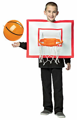 Basketball Hoop Ball Child Boys Sports Fun Costume Halloween Rasta Imposta  (Halloween Costumes Basketball)
