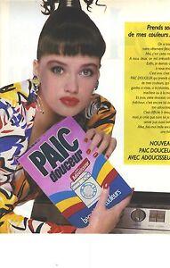 publicite 1987 paic la lessive en poudre douceur avec adoucisseur ebay. Black Bedroom Furniture Sets. Home Design Ideas