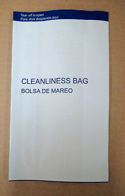50 Motion Vomit Barf Air Sickness Bags      No Tape Seal Special      8 5 X5 25