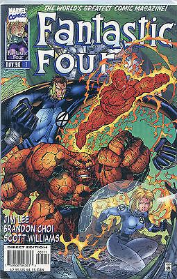Fantastic Four Issue#1 (November 1996, Marvel Comics)