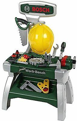 Theo Klein 8612 Bosch Werkbank Junior mit Helm und Werkzeug