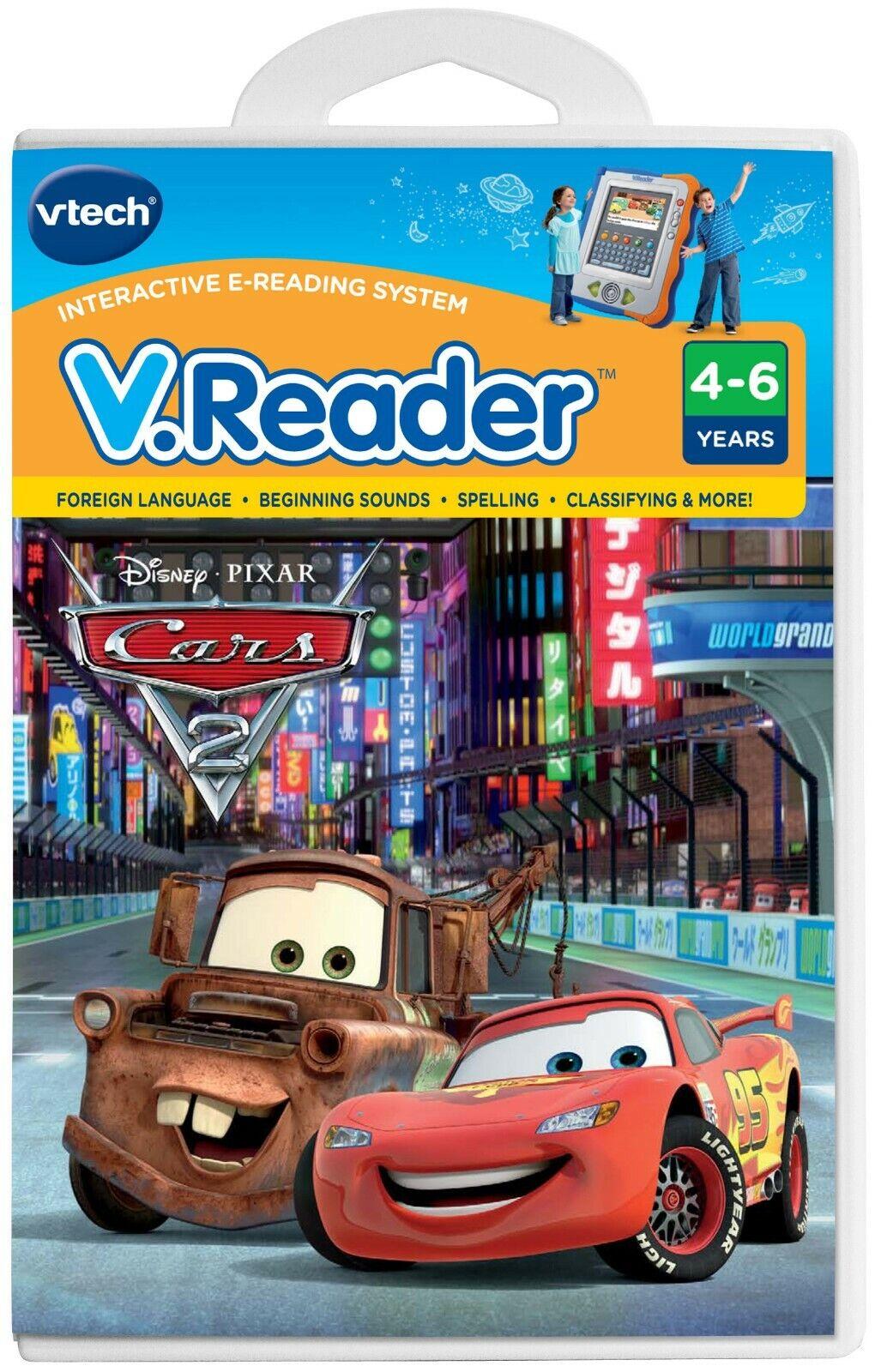 Vtech V.Reader Animated E-Book Reader - Cars 2