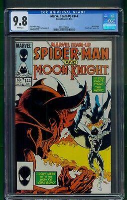Marvel Team-Up #144 (1984) CGC Graded 9.8 ~ Spider-Man ~ Moon Knight