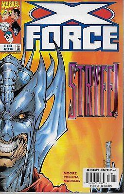X-Force No.74 / 1998 John Francis Moore & Adam Pollina