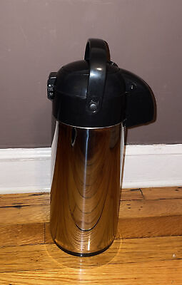 Airpot Coffee Stainless Steel Easy Push Button Thermal Coffee Dispenser 16x6