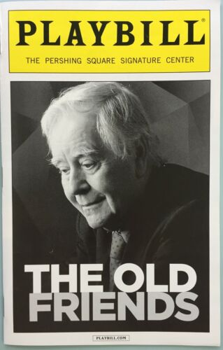 New Playbill Horton Foote Old Friends Betty Buckley Veanne Cox Hallie Foote 2013