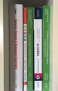 Pre-Health Science Fanshawe Textbooks