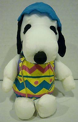 "6"" Whitman's Whitmans Peanuts Snoopy Easter Egg Plush"