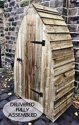 Wood / Log / Garden Store with door