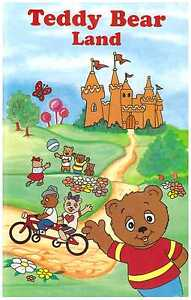TEDDY BEAR LAND Personalised Children's Book - GREAT GIFT