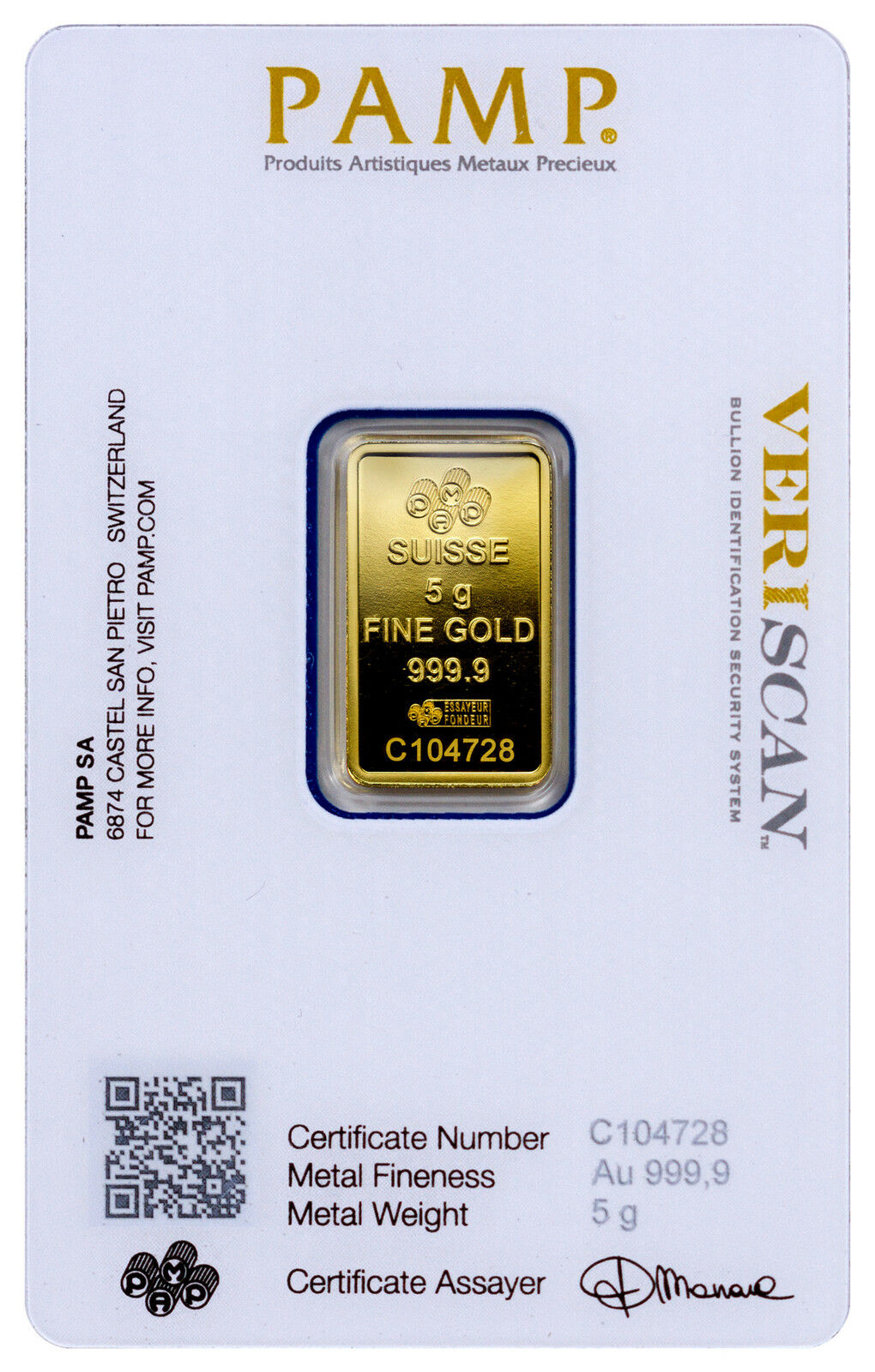 1//2 Gram Istanbul Gold Refinery 24 Karat 9999 Fine Gold Bar GC