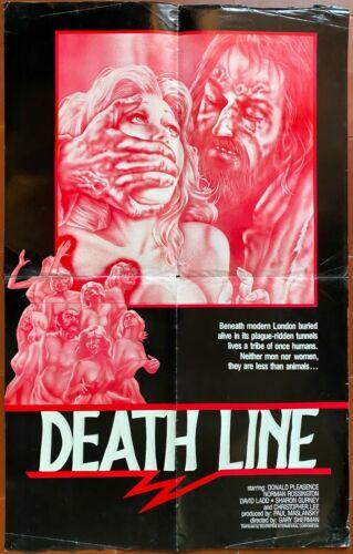 Poster English The Metro de La Death Line Donald Pleasance Gary Sherman