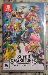 New Sealed Super Smash Bros for Nintendo Switch $70 FIRM