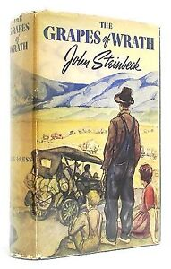 The Grapes of Wrath FIRST EDITION John Steinbeck FIRST PRINTING 1939 Classic