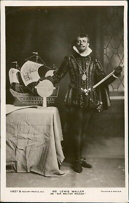 Lewis Waller. As Walter Raleigh + Bardleys & Other Costume  RM.568](Costumes Raleigh)