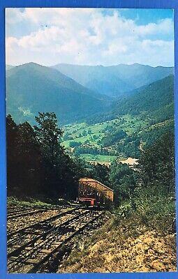 Ghost Mountain Incline Railway Maggie Valley North Carolina Postcard