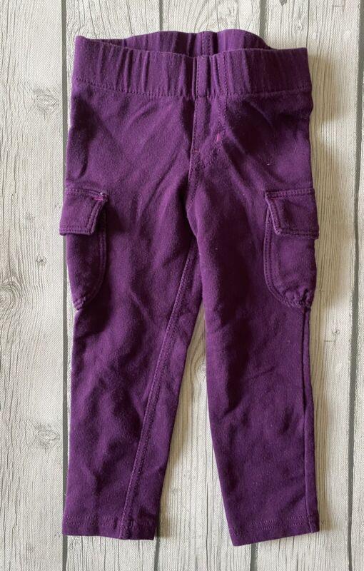 Circo Purple Full Length Toddler Elastic Waist Leggings Pants Size 3T