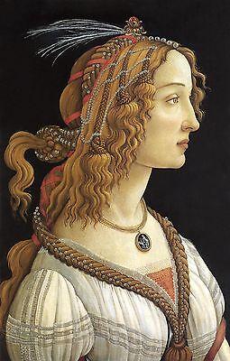 "Renaissance Beauty: Botticelli: ""La Bella Simonetta"" - Fine Art Print"