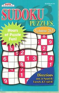 Sudoku Puzzles Vol #263 by Kappa