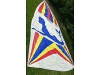 Ulmer NA-40 Tri-Radial 1.5 Oz. Spinnaker Sail - 53.1' Leech / 29.7' Foot - Used