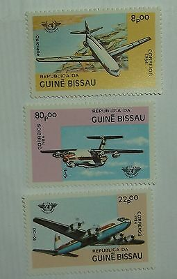 Guinea Bissau Stamp 568-70  MNH  Aircraft Topical Cat $4.25