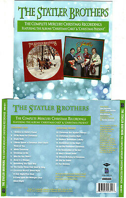 STATLER BROTHERS -COMPLETE MERCURY: CHRISTMAS CARD/PRESENT (CD)NEW*FREE PRIORITY