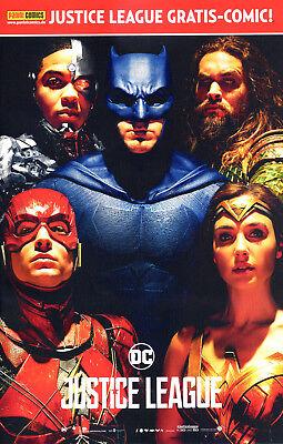 JUSTICE LEAGUE: GRATIS COMIC SPECIAL deutsch MOVIE-VARIANT (US #15) Wonder Woman