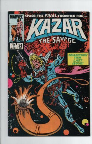 Ka-Zar the Savage #34 FN- 1984