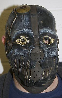 Cyborg Halloween Kostüme (Robotic Sci Fi Cyborg Mask Halloween Horror Face Steampunk Robot Fancy Dress)