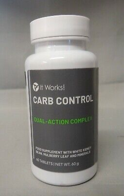 IT WORKS - CARB CONTROL COMPLEXE DOUBLE ACTIONS - 60 COMPRIMES -...