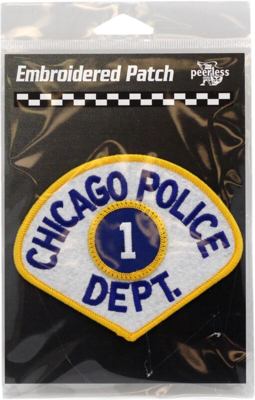 Vintage Chicago Police Department 1st District Patch 11706