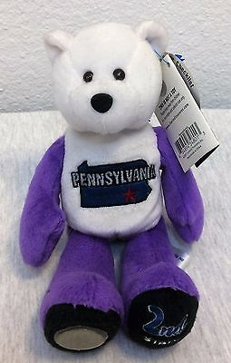Limited Treasures State Quarters Coin Collectible Teddy Bears Pennsylvania #2