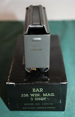 Mk I Browning Bar Mark I  338 Win  Mag  3 Rd Factory Magazine New Mag