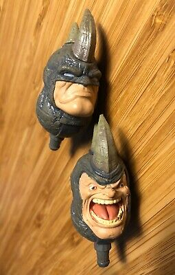 HASBRO MARVEL LEGENDS RHINO BAF HEADS