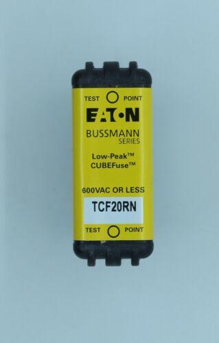 "Eaton Bussman TCF20RN 20 Amp 600VAC 300kAIC Time Delay Class ""CF"" Fuse"