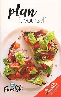 Weight Watchers 2018 Smart Points Freestyle   Plan It Yourself Guide Book