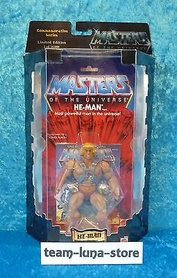 Masters of the Universe Motu Commemorative He Man / Mattel neu + ovp moc