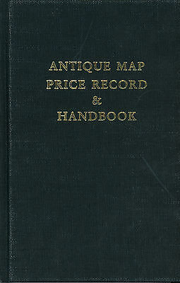 Antique Map Price Record Handbook For 1994 by Jon Rosenthal Referernce Catalog