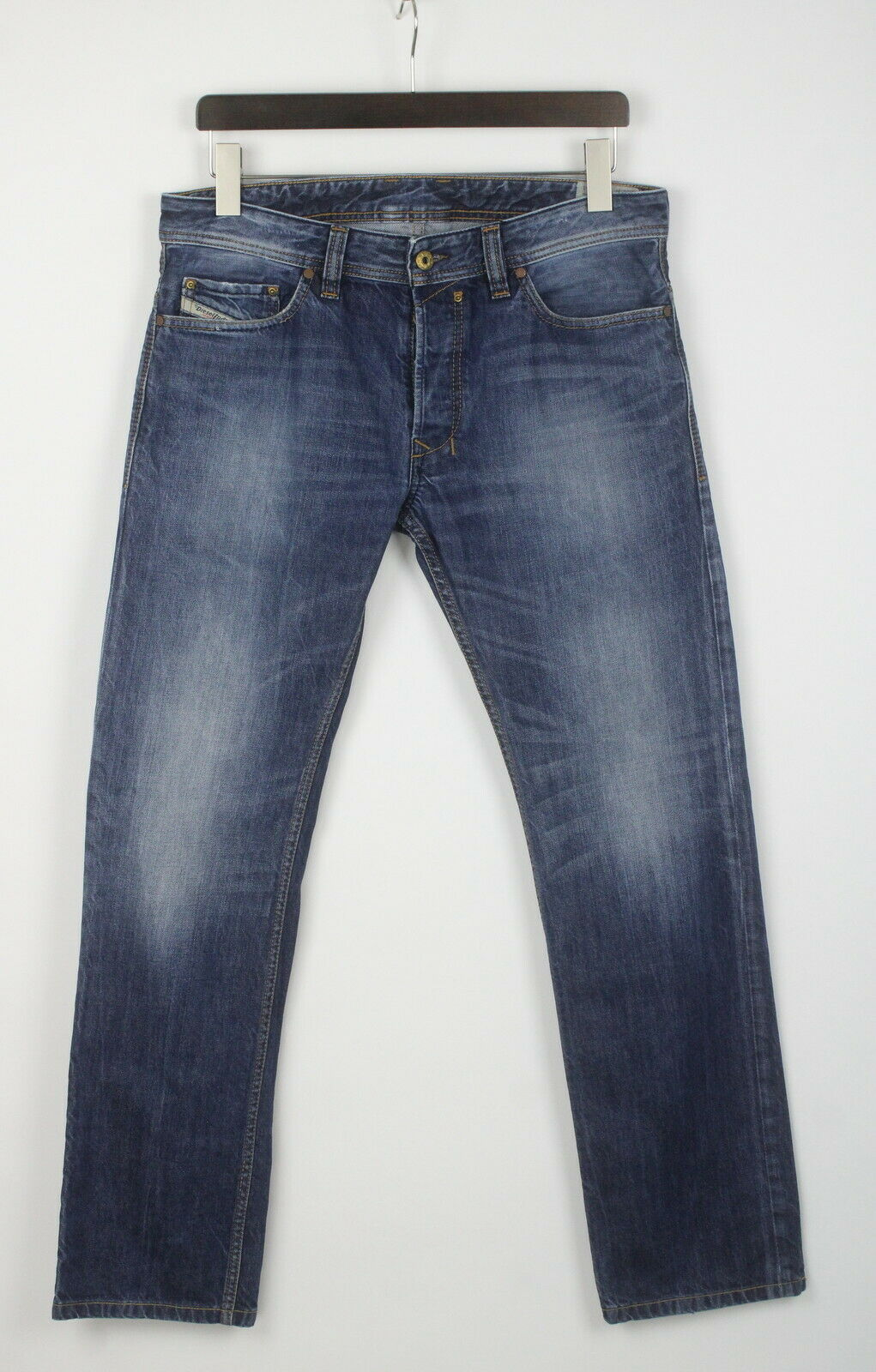 Diesel safado regular slim straight 0817f homme w31 l31 rigide jean 24183-js