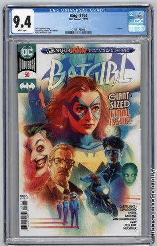 Batgirl #50 ~ CGC 9.4 ~ 1st Appearance Of Ryan Wilder