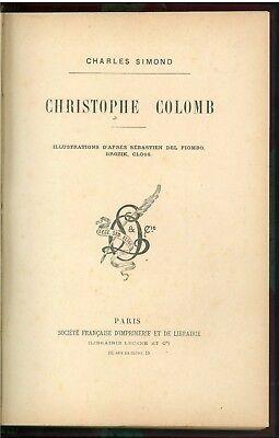 SIMOND CHARLES CHRISTOPHE COLOMB SOC. FRANCAISE D'IMPRIMERIE ET DE LIBRAIRIE